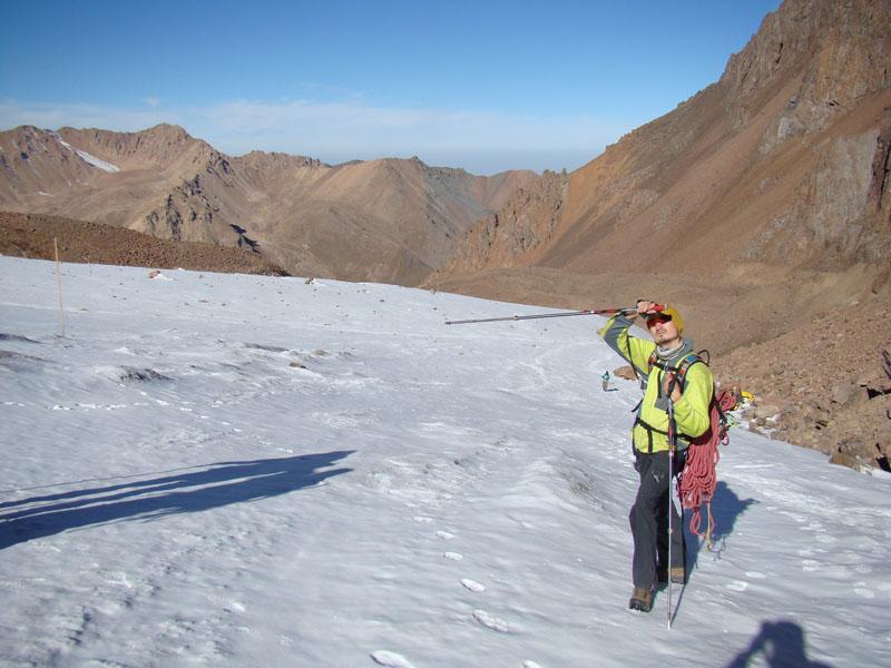 подъем по леднику